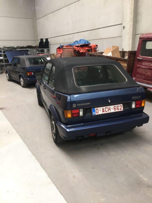 BROER BROER 01 Volkswagen Golf type 1, Cabriolet Karman